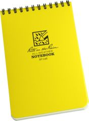 Rite in the Rain 4X6 NOTEBOOK - YELLOW, Yellow, 4 x 6 146