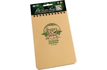 Rite in the Rain 4X6 OUTDOOR JOURNAL - TAN, Tan, 4 x 6 1746T