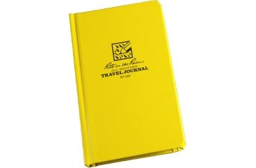 Rite in the Rain BOUND BOOK - TRAVEL JOURNAL, Yellow, 4 1/4 x 6 3/4 180