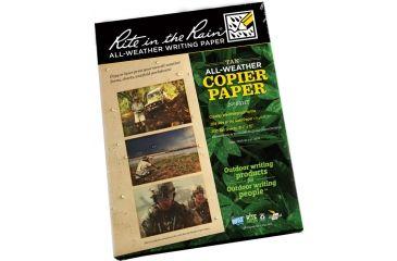 Rite in the Rain COPIER PAPER - TAN - 8.5 X 11 - 200 SH, Tan, 8 1/2 x 11 9511T