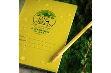Rite in the Rain EXPEDITION JOURNAL, Yellow, 4/5/8 x 7 512