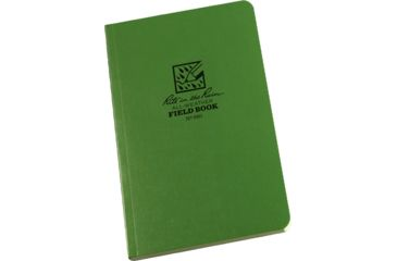 Rite in the Rain FIELD BOOK - GREEN, Green, 4 5/8 x 7 1/4 980