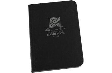 Rite in the Rain Memo Book - Black- 3.5 X 5, 3.5x5 754