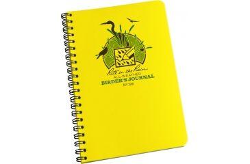 Rite in the Rain SPIRAL NOTEBOOK - BIRDERS, Yellow, 4 5/8 x 7 195