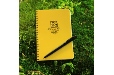Rite in the Rain SPIRAL NOTEBOOK - LEVEL, Yellow, 4 5/8 x 7 313