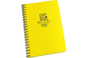 Rite in the Rain SPIRAL NOTEBOOK - NUMBERED FIELD, Yellow, 4 5/8 x 7 353N