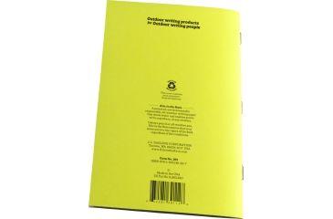 Rite in the Rain STAPLED NOTEBOOK - JOURNAL, Yellow, 4/5/8 x 7 391