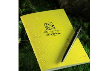 Rite in the Rain STAPLED NOTEBOOK - UNIVERSAL, Yellow, 4/5/8 x 7 371