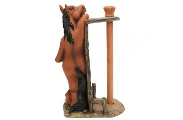 River's Edge 16in. Poly Resin Standing Paper Towel Holder, Horse 183864