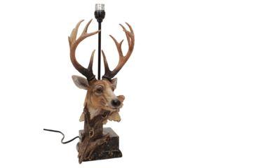 River's Edge 27in. Designer Deer Table Lamp w/ 40 Watt Bulb 184068