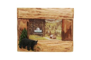 River's Edge 4in. x 6in. Firwood Root Frame, Bear 184443