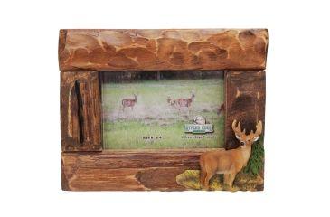 River's Edge 4in. x 6in. Firwood Root Frame, Deer 184444