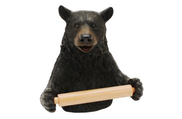 River's Edge Wall Mounted Standard Toilet Paper Holder, Cute Bear 184074