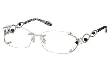 Roberto Cavalli RC0695 Eyeglass Frames - Shiny Palladium Frame Color