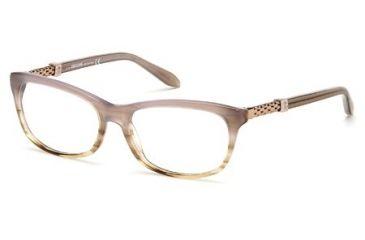 Roberto Cavalli RC0706 Eyeglass Frames - Beige Frame Color, Clear Lens Color