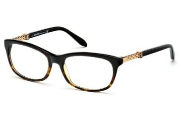 Roberto Cavalli RC0706 Eyeglass Frames - Black Frame Color