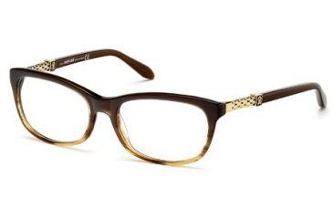 Roberto Cavalli RC0706 Eyeglass Frames - Light Brown Frame Color