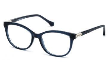 Roberto Cavalli RC0752 Eyeglass Frames - Shiny Blue Frame Color