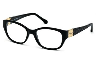 Roberto Cavalli RC0754 Eyeglass Frames - Shiny Black Frame Color