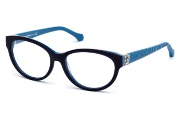 Roberto Cavalli RC0756 Eyeglass Frames - Blue Frame Color