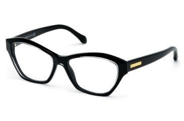 Roberto Cavalli RC0757 Eyeglass Frames - Black Frame Color
