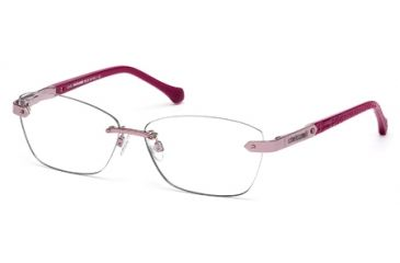 Roberto Cavalli RC0763 Eyeglass Frames - Shiny Pink Frame Color