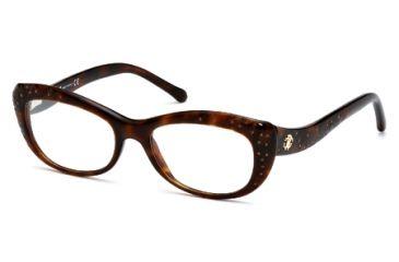 Roberto Cavalli RC0767 Eyeglass Frames - Dark Havana Frame Color