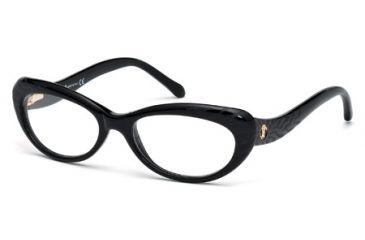 Roberto Cavalli RC0778 Eyeglass Frames - Shiny Black Frame Color