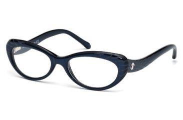 Roberto Cavalli RC0778 Eyeglass Frames - Shiny Blue Frame Color