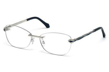 Roberto Cavalli RC0814 Eyeglass Frames - Shiny Palladium Frame Color