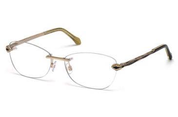 Roberto Cavalli RC0814 Eyeglass Frames - Shiny Rose Gold Frame Color