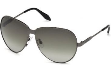 Roberto Cavalli RC661S Sunglasses - Shiny Gun Metal Frame Color, Gradient Smoke Lens Color