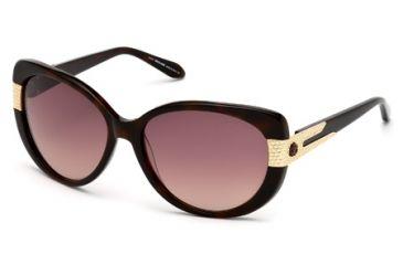 Roberto Cavalli RC745S Sunglasses - Dark Havana Frame Color, Gradient Brown Lens Color