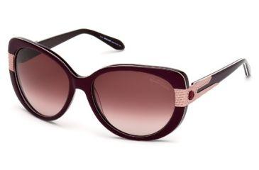 Roberto Cavalli RC745S Sunglasses - Violet Frame Color, Gradient / Mirror Violet Lens Color