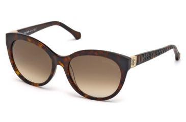 Roberto Cavalli RC798S Sunglasses - Dark Havana Frame Color, Gradient Brown Lens Color