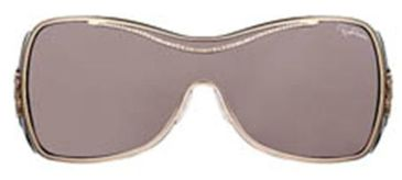 Roberto Cavalli Celestina Sunglasses Gold Brown Frame, Brown Lenses 28E