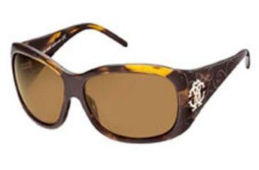 Roberto Cavalli Calcedonio Sunglasses Havana Frame, Brown Lenses 52E