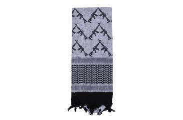 6-Rothco Crossed Rifles Shemagh Tactical Scarf