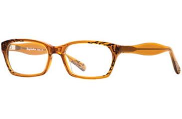 Rough Justice RJ Bossy SERJ BOSS00 Single Vision Prescription Eyeglasses - Bronze SERJ BOSS005330 BN