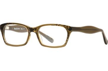 Rough Justice RJ Bossy SERJ BOSS00 Single Vision Prescription Eyeglasses - Olive SERJ BOSS005330 GN