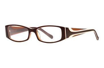Rough Justice RJ Fling SERJ FLIN00 Progressive Prescription Eyeglasses - Brown Sugar SERJ FLIN005340 BN