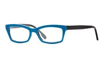 Rough Justice RJ French Kiss SERJ FREN00 Eyeglass Frames - Aqua Dulce SERJ FREN005135 BL