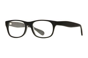 Rough Justice RJ Scandalous SERJ SCAN00 Single Vision Prescription Eyeglasses - Black Out SERJ SCAN005040 BK