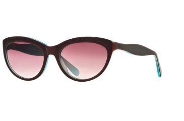 Rough Justice RJ Vicious SERJ VICI06 Bifocal Prescription Sunglasses SERJ VICI065730 BUR - Lens Diameter 57 mm, Lens Diameter 60 mm, Frame Color Garnet Ice