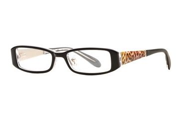 Rough Justice RJ Vixen SERJ VIXE00 Progressive Prescription Eyeglasses - Black Sable SERJ VIXE004830 BK
