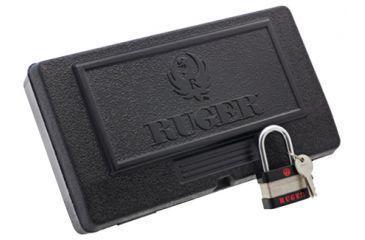 Ruger Black Rimfire Plastic Case For Rimfire Pistols Not For SR22 Black