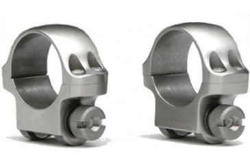 Ruger Scope Ring 6KHM Extra High Hawkeye Stainless Steel 90292