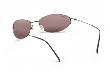 Maui Jim Runabout Sunglasses w/ Metallic Gloss Copper Frame and Maui Rose Lenses - R509-23, Back View