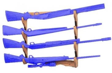 S A Sports San Angelo Wood Gun Rack 10704