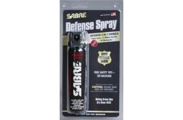 Sabre 4.36 oz Flip-Top Magnum 120 Defense Spray Advanced 3-in-1 Formula, Black M-120FT
